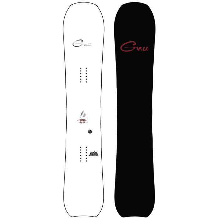 GNU - Hyperkyarve C2X Snowboard 2022