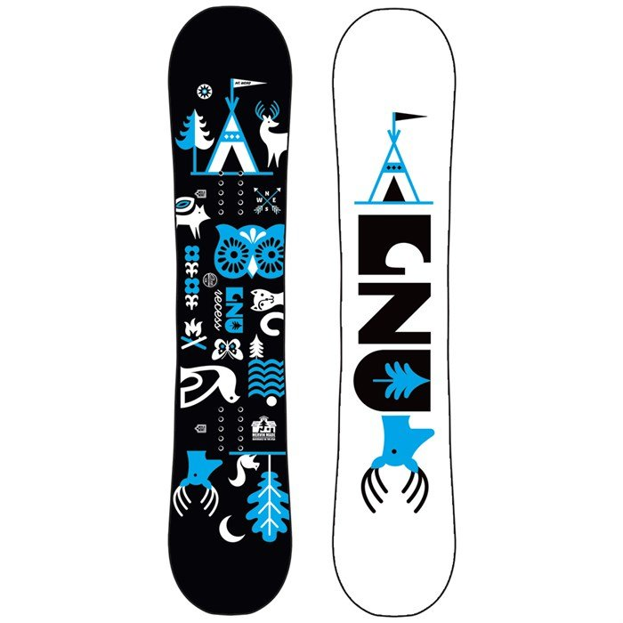 GNU - Recess Asym BTX Snowboard - Kids' 2022