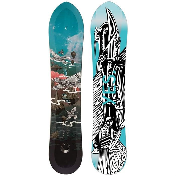 Yes. - 420 Powderhull Snowboard 2022