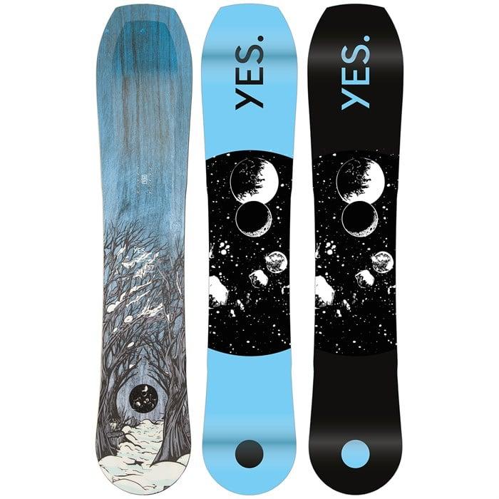 Yes. - Hybrid Snowboard 2022