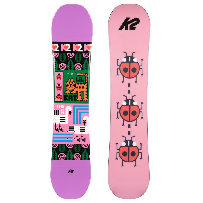 K2 - Lil Kat Snowboard - Girls' 2022