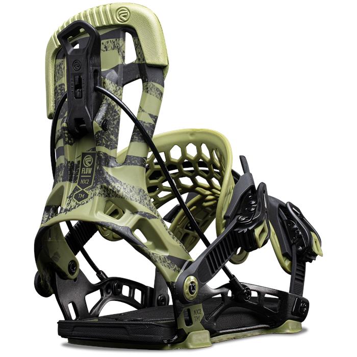 Flow - NX2 Team Fusion Snowboard Bindings 2022