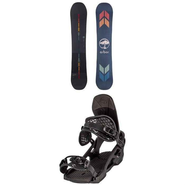 Arbor - Formula Rocker Snowboard + Spruce Snowboard Bindings 2022