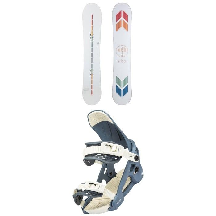 Arbor - Poparazzi Camber Snowboard + Acacia Snowboard Bindings - Women's 2022