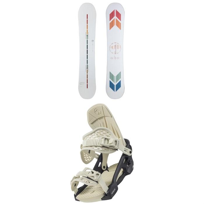 Arbor - Poparazzi Rocker Snowboard + Acacia Snowboard Bindings - Women's 2022