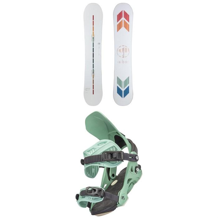 Arbor - Poparazzi Rocker Snowboard + Sequoia Snowboard Bindings - Women's 2022