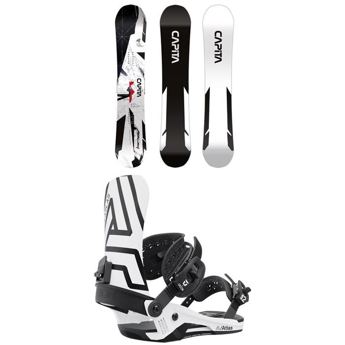 CAPiTA - Mercury Snowboard + Union Atlas Snowboard Bindings 2022