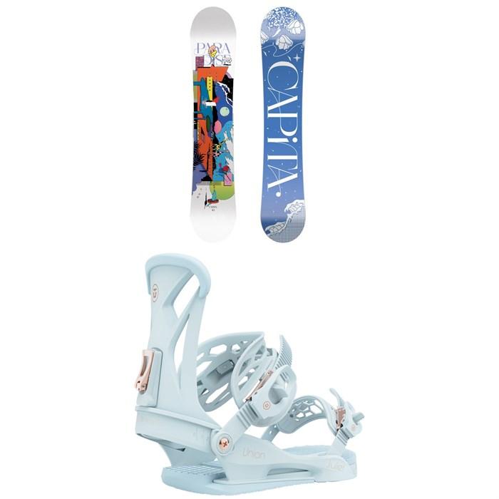 CAPiTA - Paradise Snowboard + Union Juliet Snowboard Bindings - Women's 2022