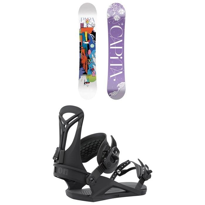 CAPiTA - Paradise Snowboard + Union Rosa Snowboard Bindings - Women's 2022