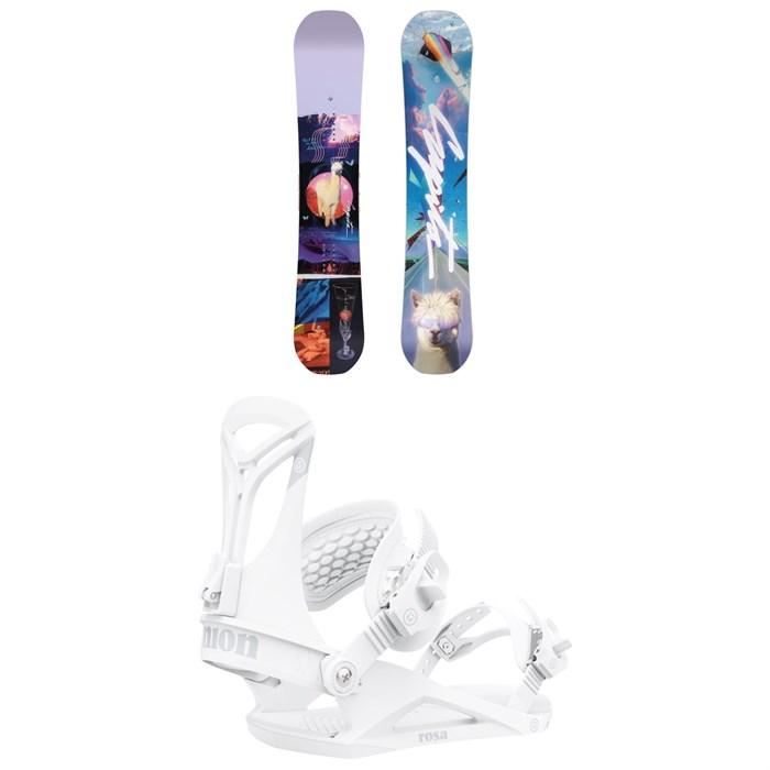 CAPiTA - Space Metal Fantasy Snowboard + Union Rosa Snowboard Bindings - Women's 2022
