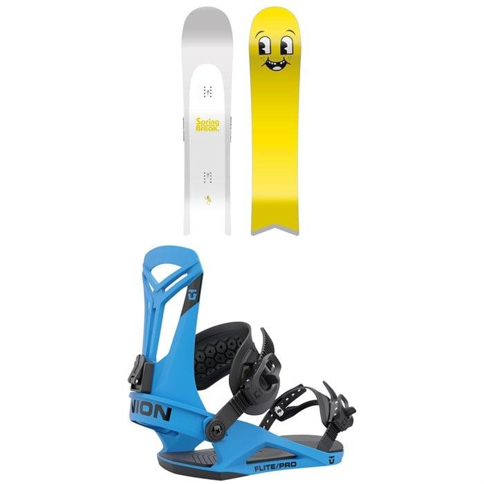 CAPiTA - Spring Break Slush Slasher Snowboard + Union Flite Pro Snowboard Bindings 2022