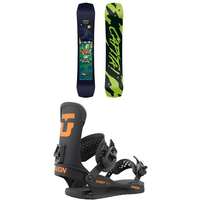CAPiTA - Children Of The Gnar Snowboard + Union Cadet Pro Snowboard Bindings - Kids' 2022