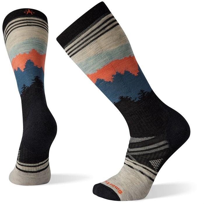 Smartwool - Performance Ski Full Cushion Alpenglow Pattern OTC Socks