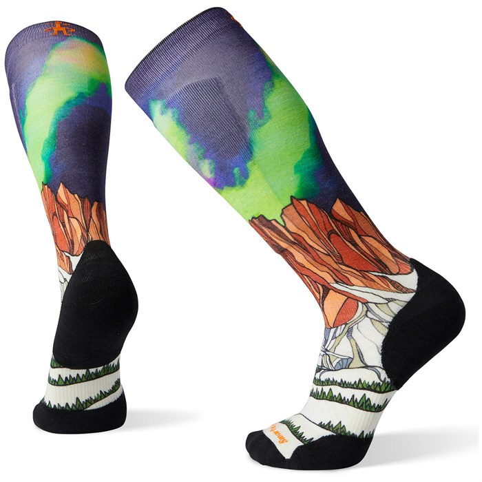 Smartwool - Performance Ski Targeted Cushion Homechetler Print OTC Socks
