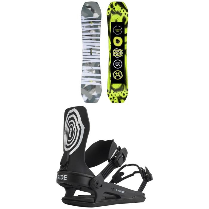 Ride - Twinpig Snowboard + C-6 Snowboard Bindings 2022