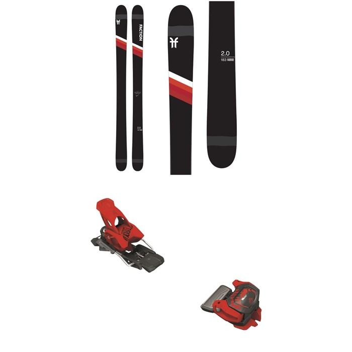 Faction - Candide 2.0 Skis + Tyrolia Attack² 13 GW Bindings 2021