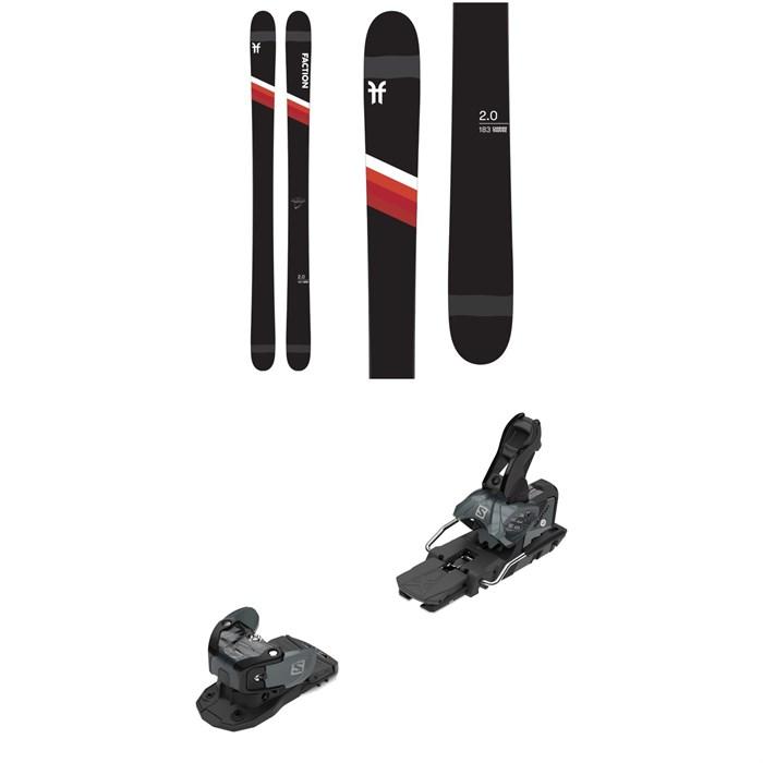 Faction - Candide 2.0 Skis + Salomon Warden MNC 13 Ski Bindings 2021