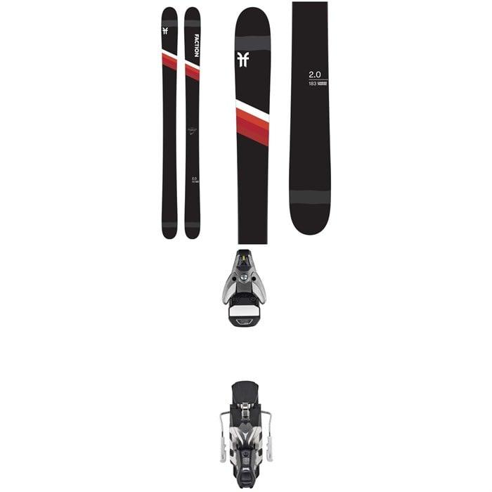 Faction - Candide 2.0 Skis + Atomic STH2 WTR 16 Ski Bindings 2021