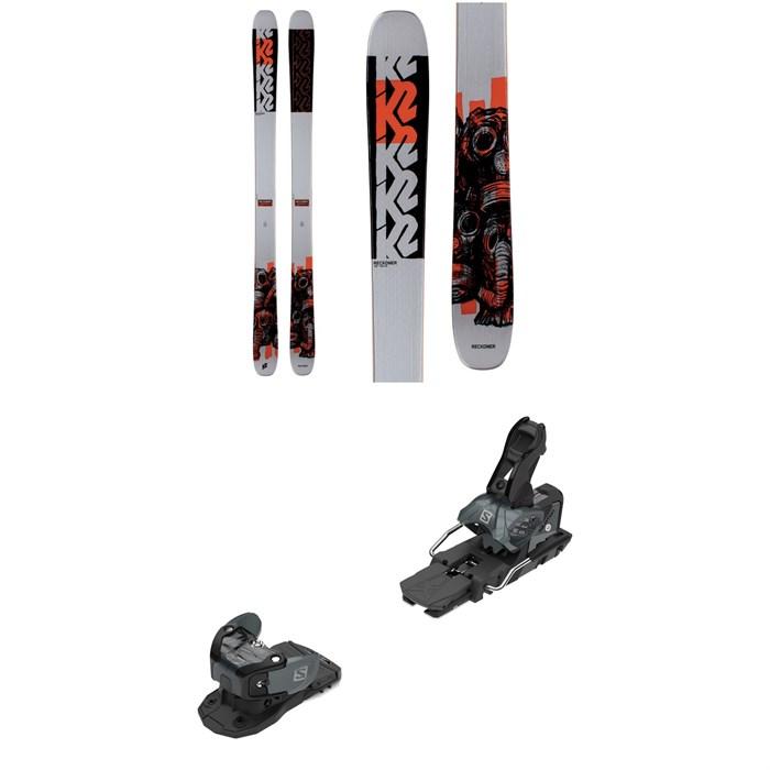 K2 - Reckoner 102 Skis + Salomon Warden MNC 13 Ski Bindings 2021