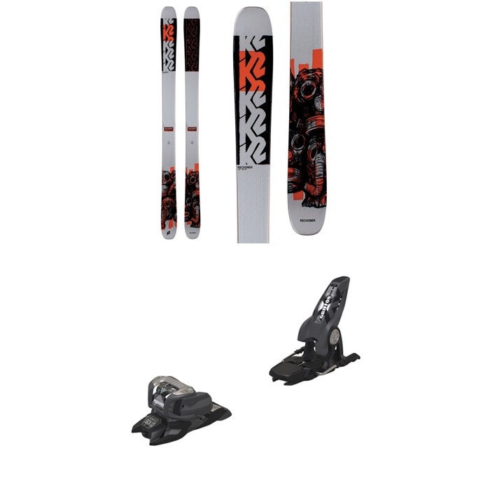 K2 - Reckoner 102 Skis 2021 + Marker Griffon 13 ID Ski Bindings