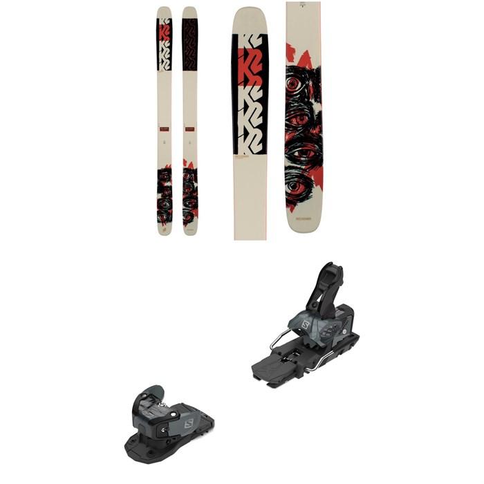 K2 - Reckoner 112 Skis + Salomon Warden MNC 13 Ski Bindings 2021