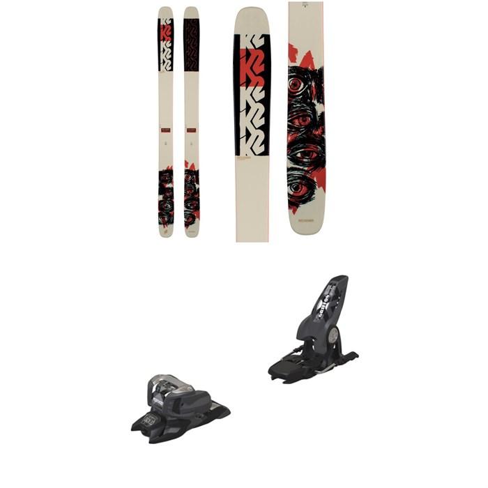 K2 - Reckoner 112 Skis 2021 + Marker Griffon 13 ID Ski Bindings