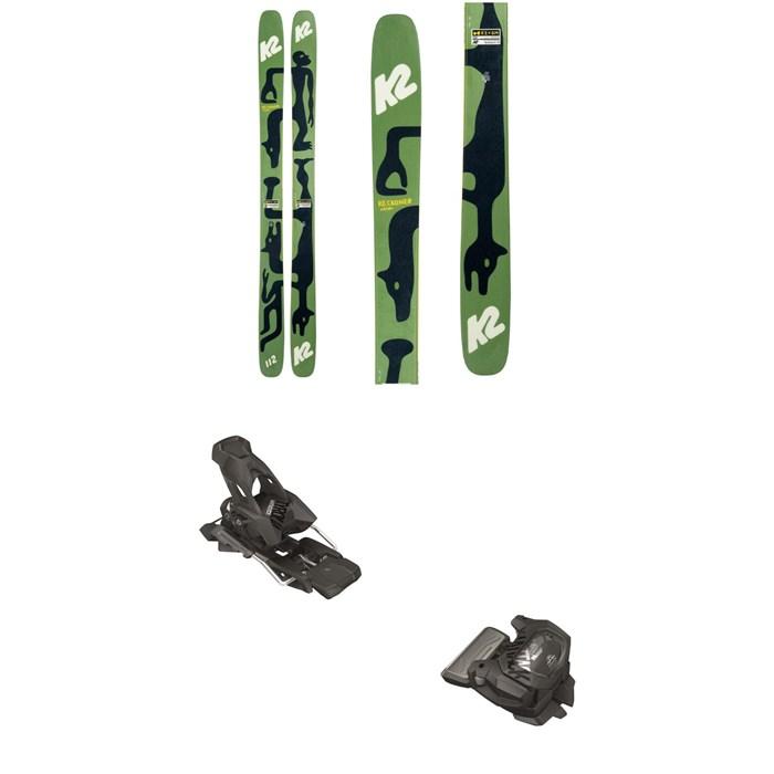 K2 - x Geoff McFetridge Reckoner 112 Skis + Tyrolia Attack² 13 GW Bindings 2021