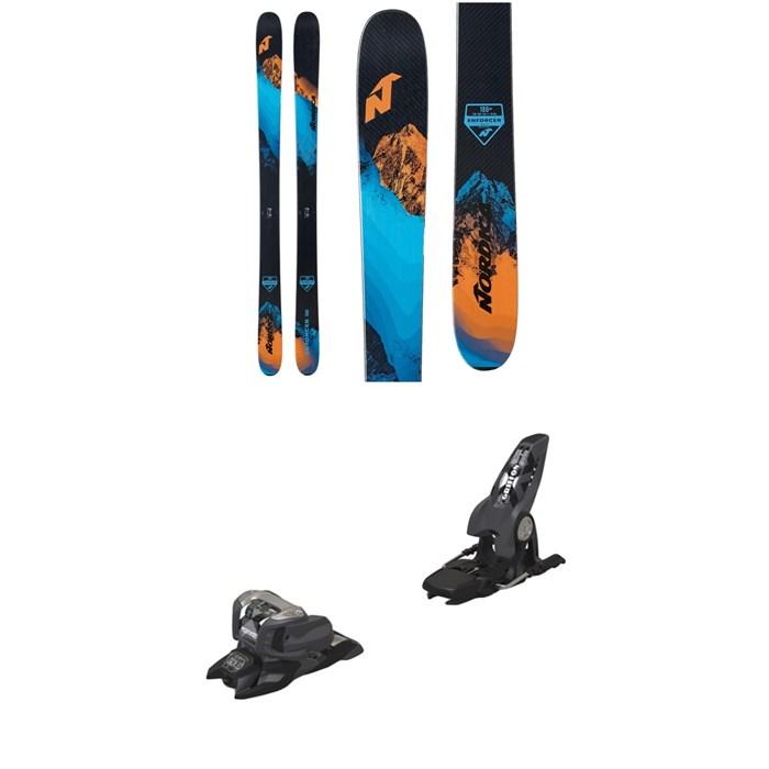 Nordica - Enforcer Free 104 Skis 2021 + Marker Griffon 13 ID Ski Bindings