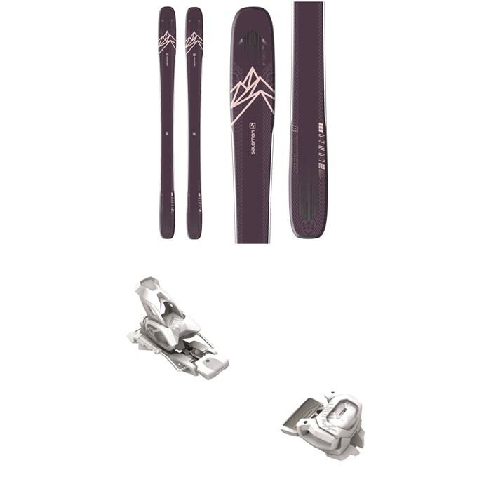 Salomon - QST Lumen 99 Skis - Women's + Tyrolia Attack² 12 GW Bindings 2021