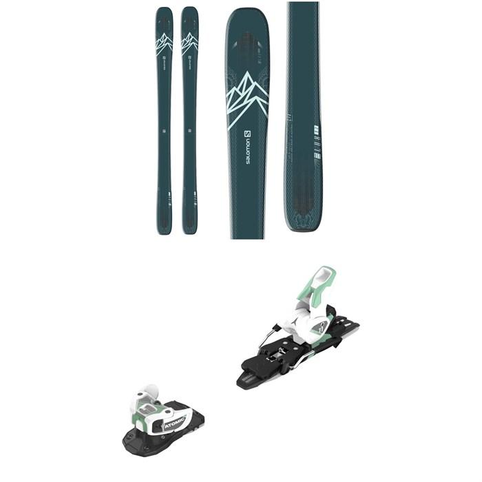 Salomon - QST Lux 92 Skis - Women's + Atomic Warden MNC 11 Ski Bindings 2021