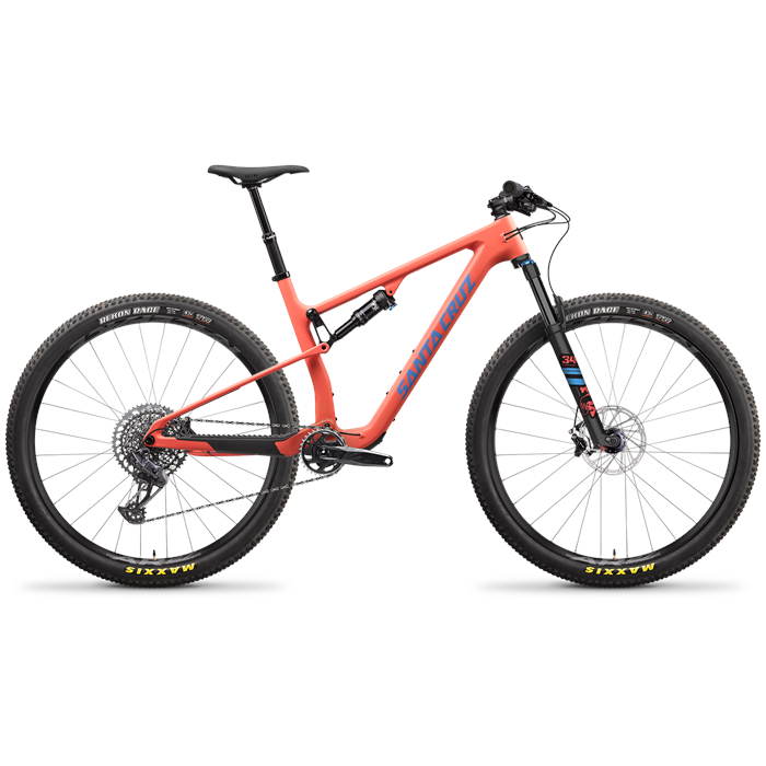 Santa Cruz Bicycles - Blur C S TR Complete Mountain Bike 2022