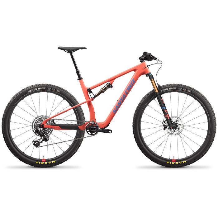 Santa Cruz Bicycles - Blur CC X01 AXS Reserve TR Complete Mountain Bike 2022