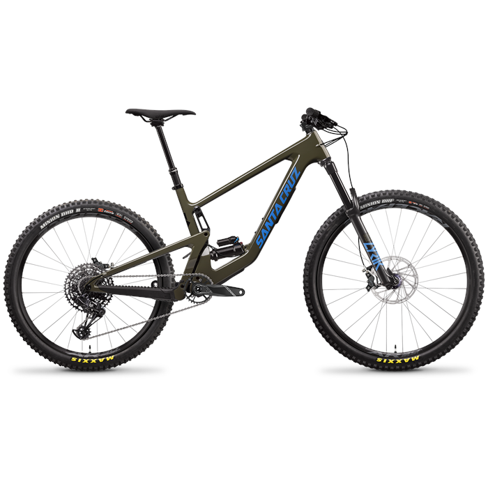 Santa Cruz Bicycles - Bronson C R Complete Mountain Bike 2022