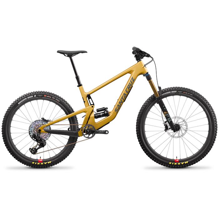 Santa Cruz Bicycles - Bronson CC XX1 AXS Reserve Complete Mountain Bike 2022