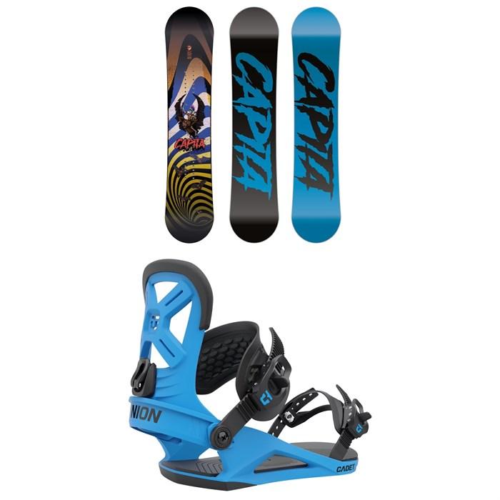 CAPiTA - Scott Stevens Mini Snowboard + Union Cadet Snowboard Bindings - Kids' 2022