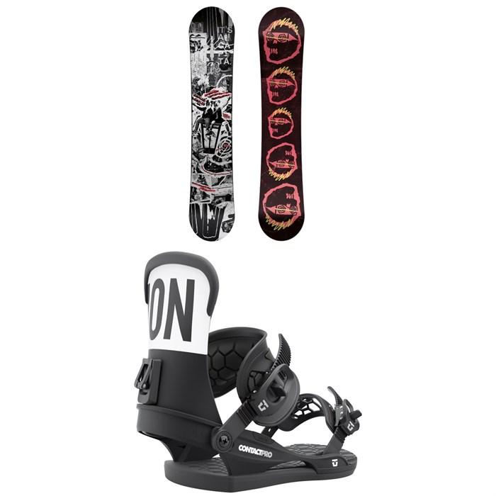 CAPiTA - Scott Stevens Pro Snowboard + Union Contact Pro Snowboard Bindings 2022