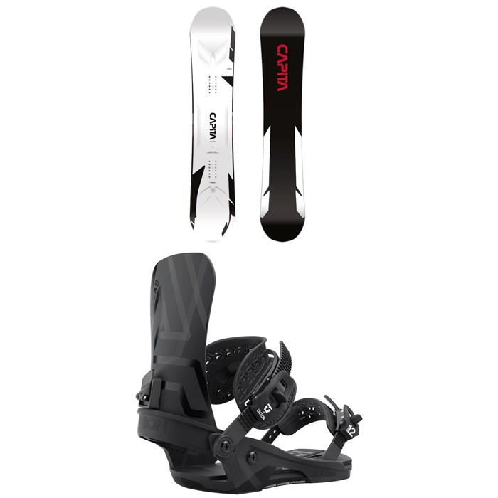 CAPiTA - MEGA Mercury Snowboard + Union Atlas Snowboard Bindings 2022