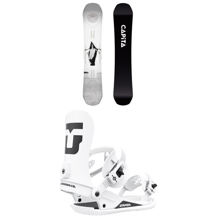 CAPiTA - Super DOA Snowboard + Union Strata Snowboard Bindings 2022