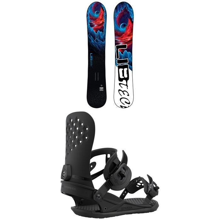 Lib Tech - Dynamo C3 Snowboard + Union Strata Snowboard Bindings 2021