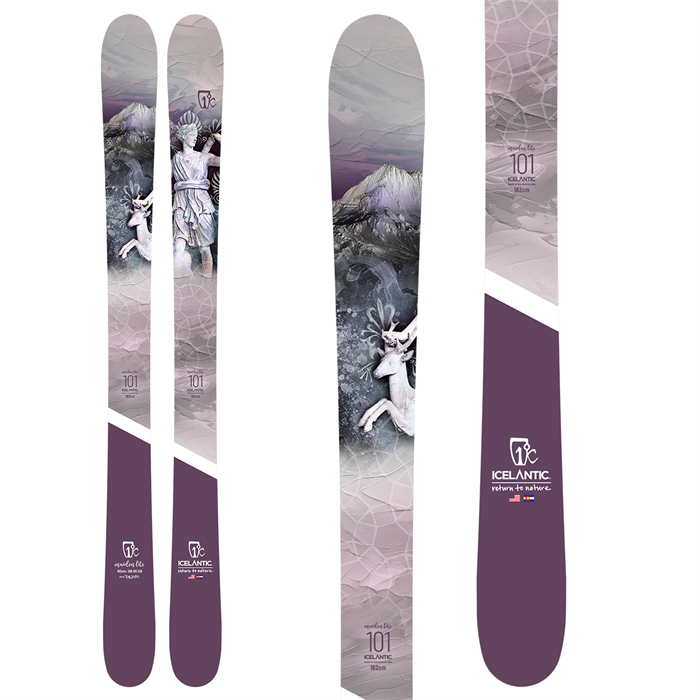 Icelantic - Maiden Lite 101 Skis - Women's 2022