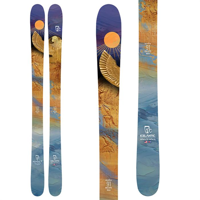 Icelantic - Maiden 91 Skis - Women's 2022
