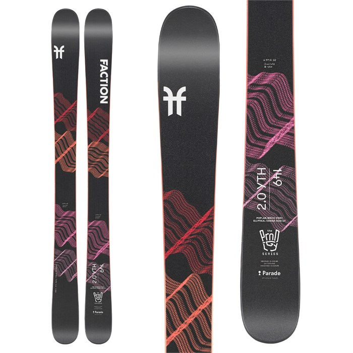 Faction - Prodigy 2.0 YTH Skis - Kids' 2022