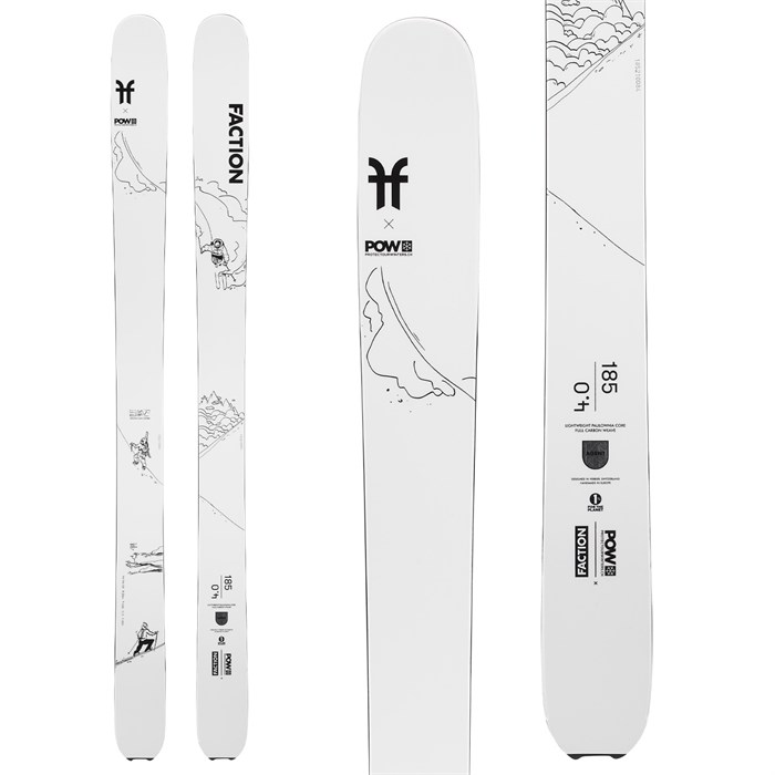 Faction - Agent 4.0 x POW Collab Skis 2022
