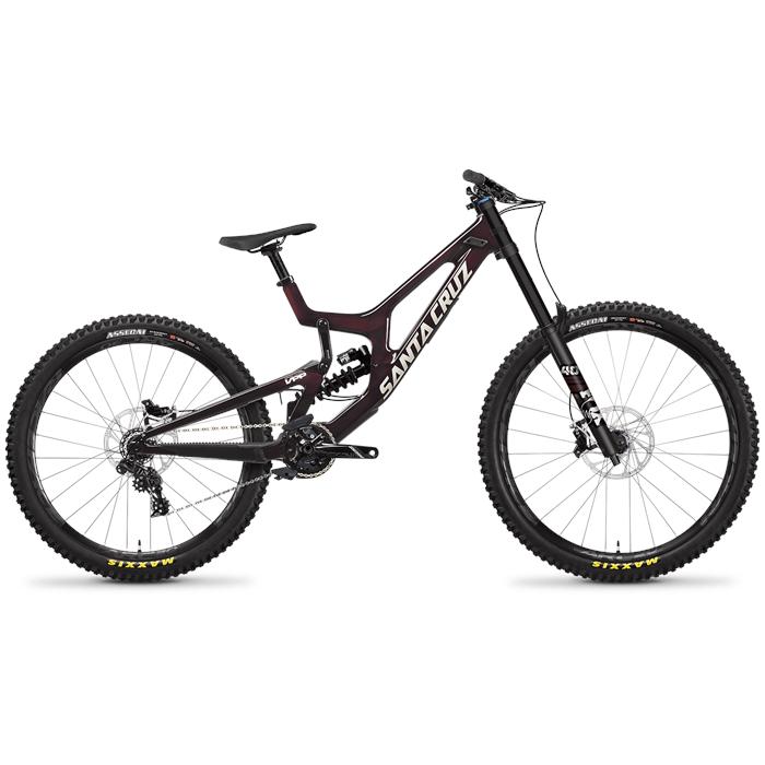 Santa Cruz Bicycles - V10 CC S MX Complete Mountain Bike 2022