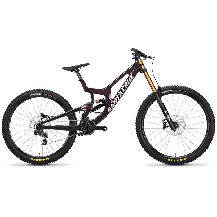 Santa Cruz Bicycles - V10 CC X01 MX Complete Mountain Bike 2022