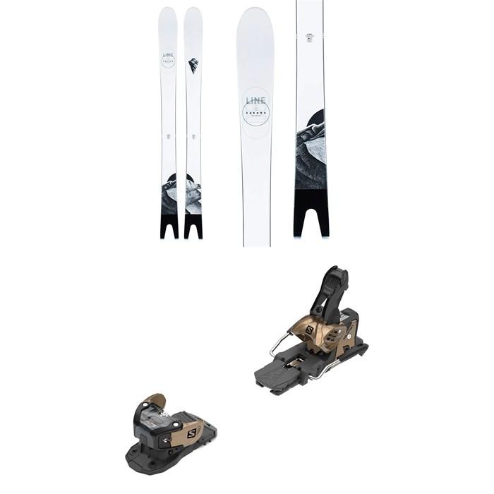 Line Skis - Sakana Skis + Salomon Warden MNC 13 Ski Bindings 2021 - Used