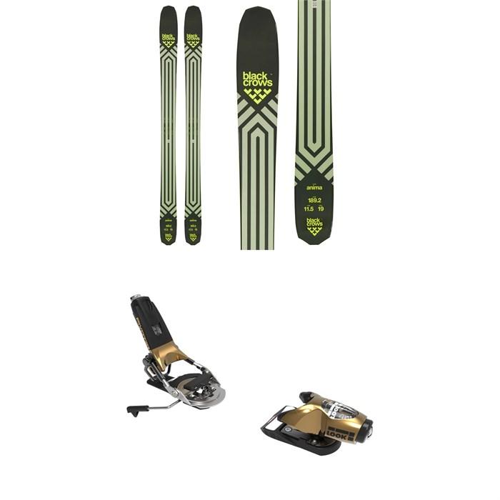 Black Crows - Anima Skis + Look Pivot 15 GW Ski Bindings 2021 - Used