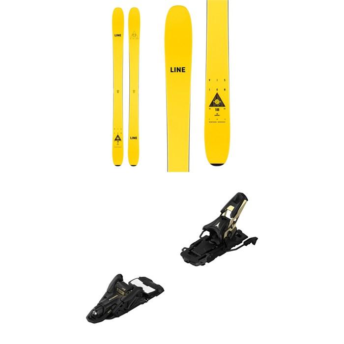 Line Skis - Vision 108 Skis + Atomic Shift MNC 13 Alpine Touring Ski Bindings 2021 - Used