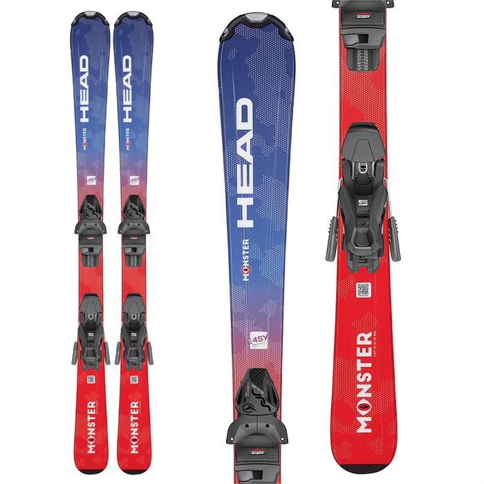 Head - Monster Easy Skis + JRS 4.5 GW Ski Bindings - Little Kids' 2022