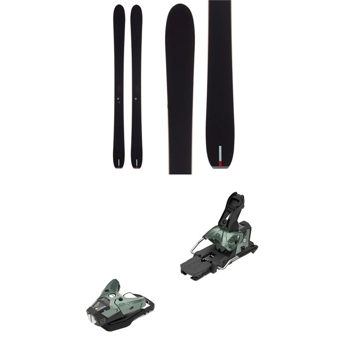 Season - Nexus Ski + Salomon STH2 WTR 16 Ski Bindings 2021 - Used